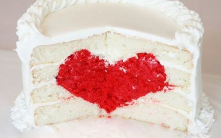 Amazing heart cake