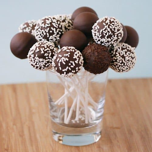 Cake Pops Made With a Cake Pop Maker