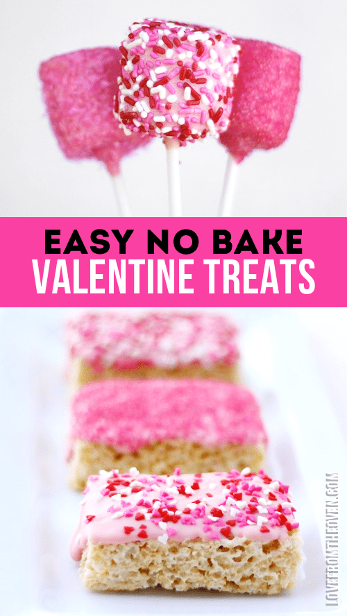 Easy No Bake Valentine Desserts And Treats