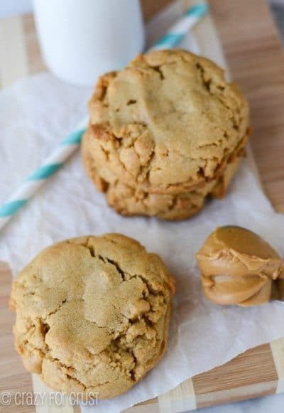 Bakery Style Peanut Butter Cookies