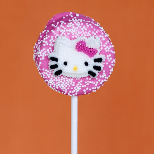 hello kitty chocolate cookie