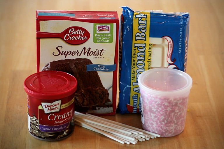 what you need to make cake pops