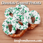 Chocolate Pretzels, Chocolate Grahams and Chocolate Oreos – Wrapping up St. Patrick's Day Baking