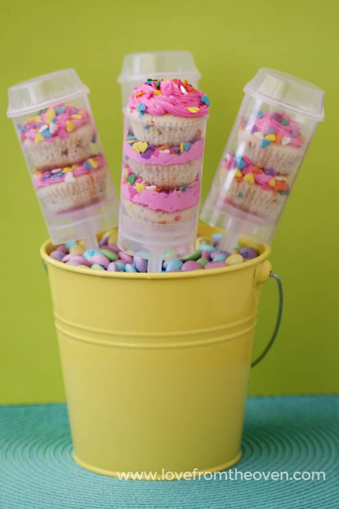 Cupcake Push Up Pops
