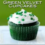 Green Velvet Cupcakes