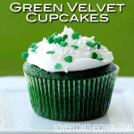 Green Velvet Cake…  St. Patty's Day Baking
