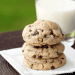 Levain Bakery Inspired Chocolate Chip Walnut Cookie Recipe