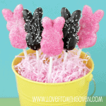 Peeps Week Starting With Peeps Pops – Peeps Recipes and Peeps Ideas