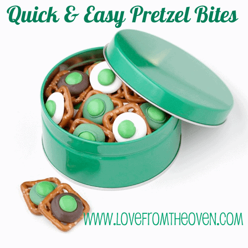 Quick & Easy Pretzel Bites by Love From The Oven