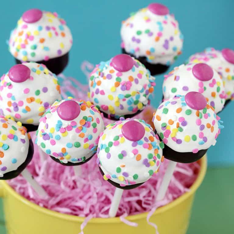 Cupcake Pops Using My Little Cupcake Cake Pop Mold