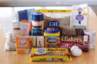 ingredients to make levain bakery cookie recipe