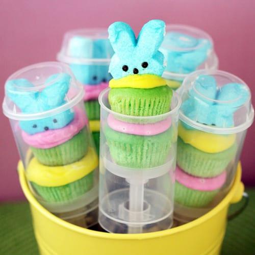 cupcake push pops Peep Push-Up Pops {Peep Week Day 4} 3