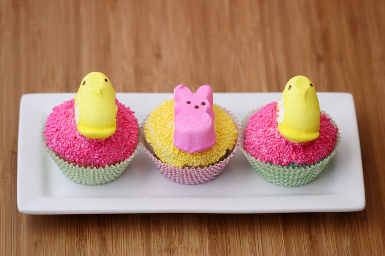 cupcakes with peeps