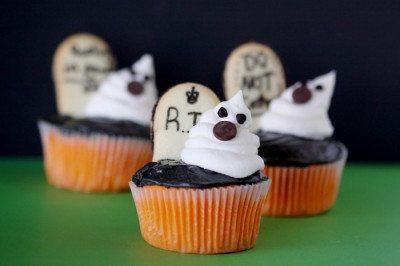 Orange Velvet Cupcakes