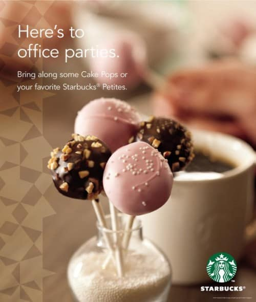 Starbucks has cakepops whoopie pies and other sweet petites Love