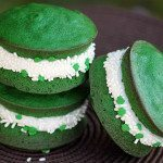 whoopie pies that are green