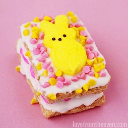 PEEPS Stuffed Crispy Treats