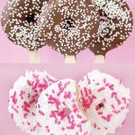 Donut Pops – Chocolate Covered Doughnuts On A Stick