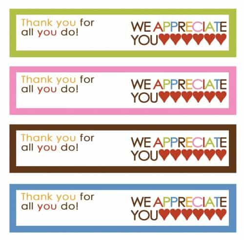 ice cream thank you printable
