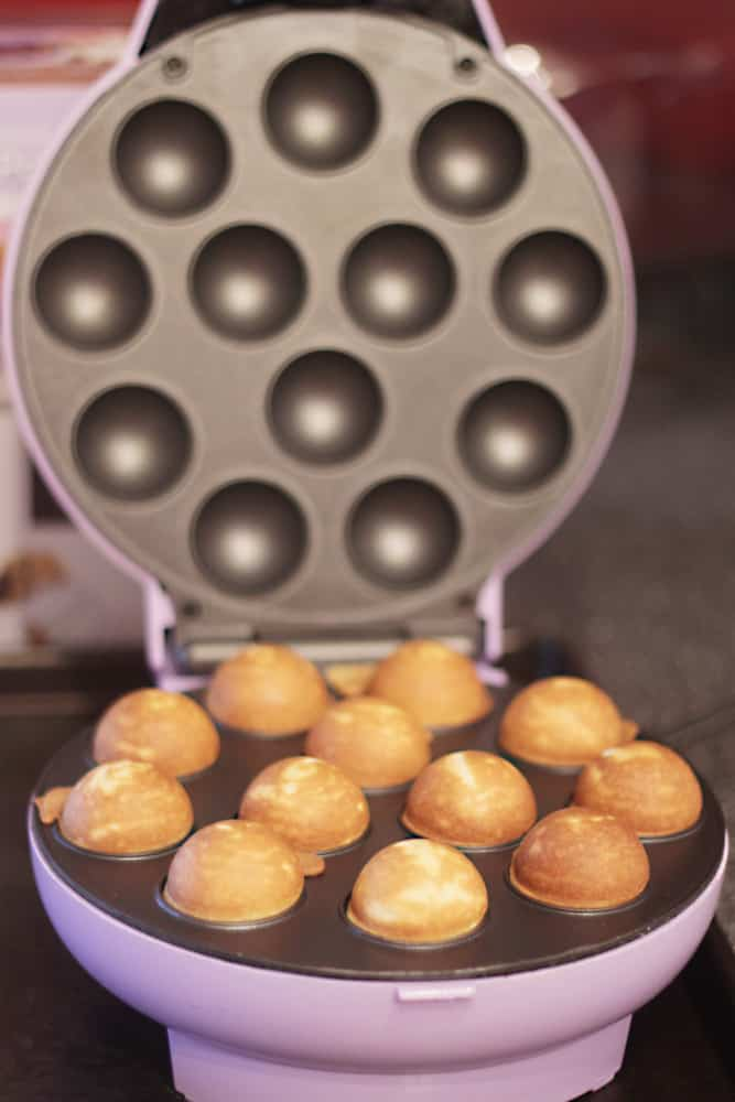 donut hole maker love from the oven. Black Bedroom Furniture Sets. Home Design Ideas