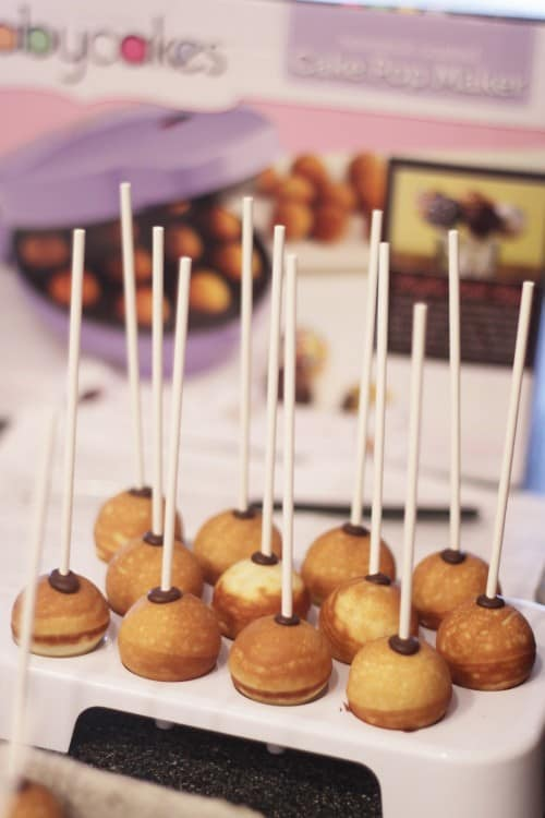 Baby Cake Pop Maker Then Dip Them