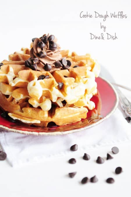 Cookie Dough Waffles