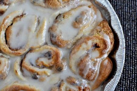 Cookie Dough Cinnamon Rolls