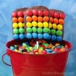 Rainbow Rice Krispies Treat Pops