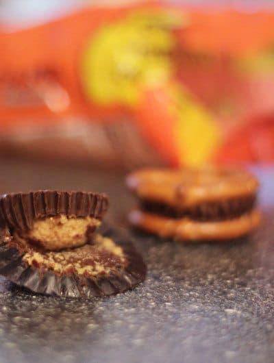 Double Chocolate Peanut Butter Pretzel Bites