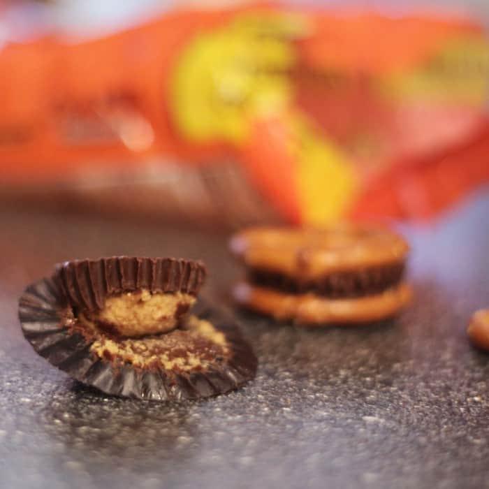 reeses peanut butter pretzels