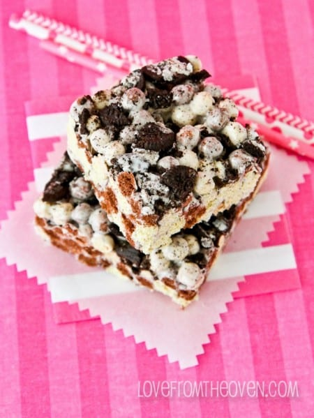 Cookies And Cream Crispy Treats