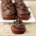 Triple Chocolate Cupackes Using The Babycakes Cupcake Maker