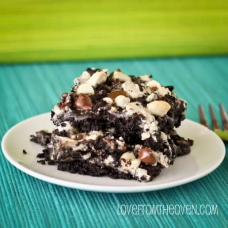 Cookies And Cream Magic Cookie Bars