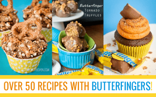 Over 50 REcipes With Butterfingers