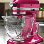 Enter to win a Raspberry Ice Kitchenaid Mixer From Sweetopia!