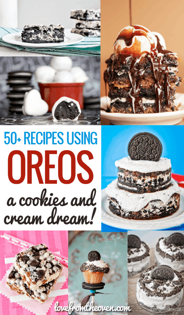 Recipes Using Oreos over 50 cookies and cream recipes