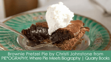 Brownie Pretzel Pie Recipe