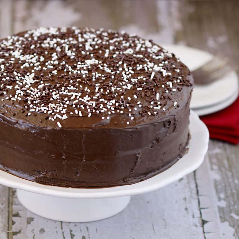 My Favorite Chocolate Cake And Cake Anxiety