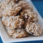 Lowfat Pumpkin Oatmeal Spice Cookies