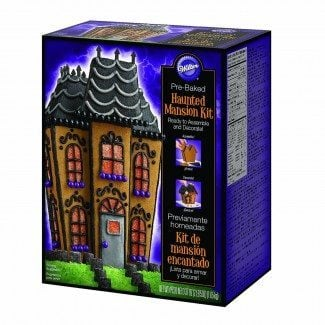 Haunted Mansion Gingerbread Kit For Halloween