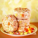 Quick And Easy Candy Corn White Chocolate Rice Krispies Treats