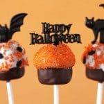 Halloween Cupcake Cake Pops