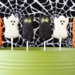 chocolate dipped peeps for halloween