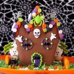 gingerbread house for halloween