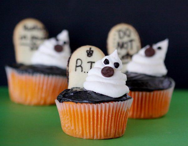 Baking Orange Velvet Halloween Cupcakes And Making Memories.