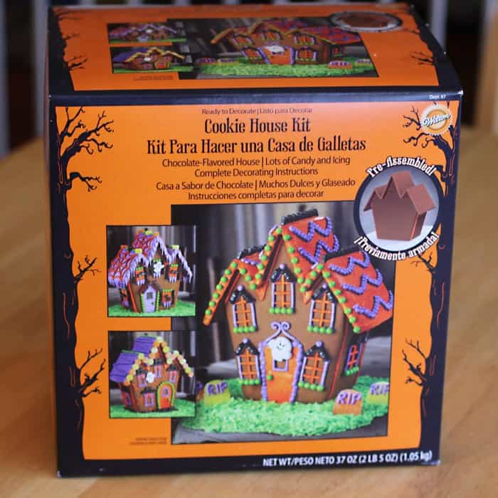 haunted mansion gingerbread kit for halloween heres