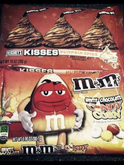 Pumpkin Spice Kisses & Candy Corn M&M's Giveaway