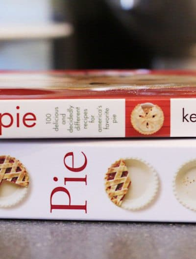 Pie – 300 Tried And True Recipes For Delicious Homemade Pie by Ken Haedrich. And My Pie Crust Secret.