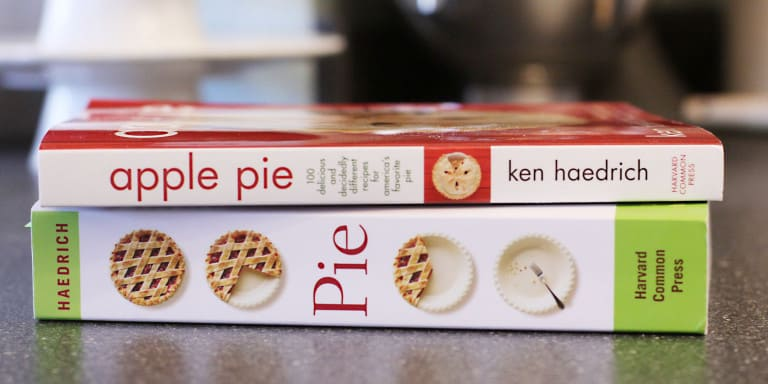 pie cookbooks by ken haedrich