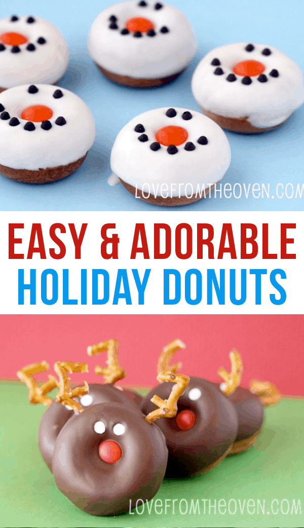 Easy And Adorable Holiday Donuts